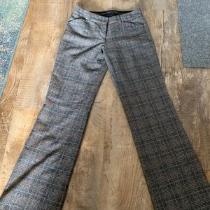 Express editor pants- wool-like material w/ lining
